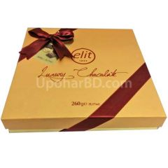 Elit Gourmet Collection Yellow chocolate gift box