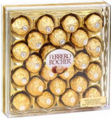 Ferrero Rocher Chocolates - large box, 24 pieces