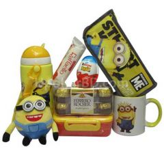 Minion combo with mix Chocolates