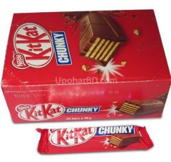 1 box of Nestle Kit Kat chunky (24pc x 46gm)