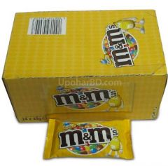 1 box of M&M peanut (24pc x 45gm)