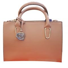 Brown ladies handbag