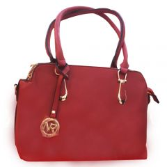 Maroon ladies handbag