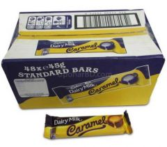 Box of Cadbury Dairy Milk Caramel (48pc x 45gm)