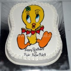 Cake with tweety design