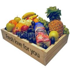 Mix fruit juice basket
