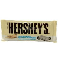 Hersheys white chocolate with cookie bits