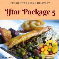 5. Complete Iftar package with fruit