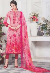 Coral-red mix exclusive fancy traditional suit by Esta design