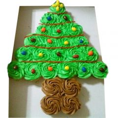 Tree shape Cupcake