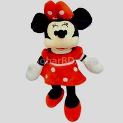 Minnie Mouse red soft toy