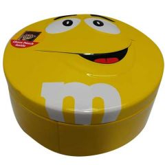 1 Yellow box of M&M 200gm