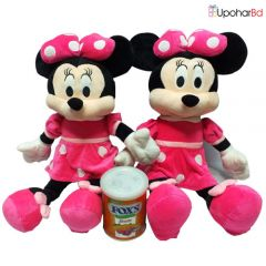 2 Minnie Mouse with a Box of chocolates