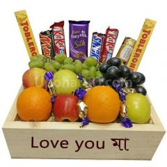 Fruits and Chocolates wish box