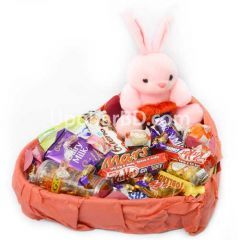 Chocolate hamper with teddy