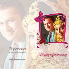 Photo greetings card for Anniversary