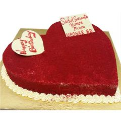 Red velvet cake from Bread and Beyond