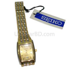 Seiko gold tone watch