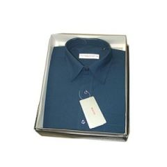 Cats Eye Full sleeve Shirt (Bush Blue)