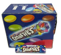 1 box of Smarties (36pc x 38gm)
