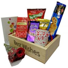 Snacks Wish Basket