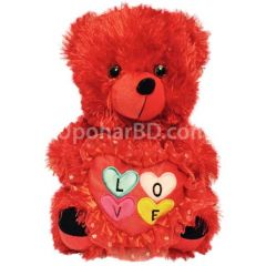 Valentine Teddy multi heart
