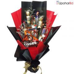 Assorted Chocolate Bouquet Surprise