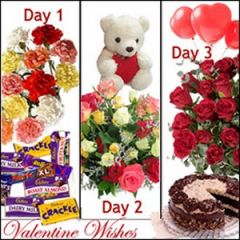 Three days mega gift package