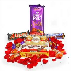 Assorted chocolate package